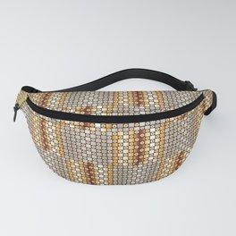 Traditional Japanese pattern ICHIMATSU Fanny Pack