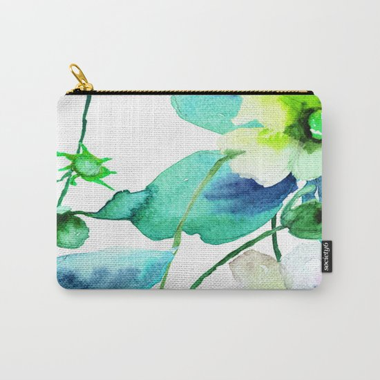 Flowers 08 Carry-All Pouch