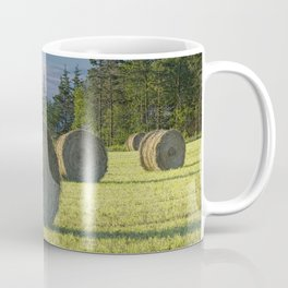 Hay Bales on Prince Edward Island Coffee Mug