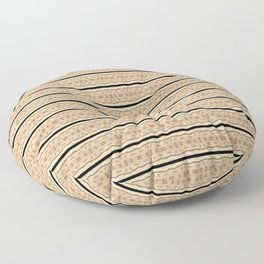 Designer Fashion Bags Abstract Floor Pillow