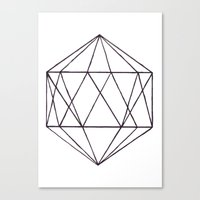 prism Canvas Prints featuring Prism by Bridget Davidson