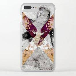 SALTIRE QUATTRO Clear iPhone Case