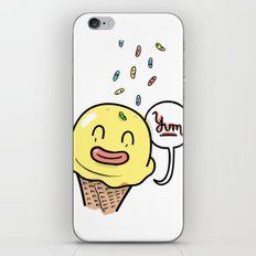 Friends Go Better Together 6/7 - Ice Cream and Sprinkles iPhone & iPod Skin
