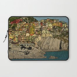Of Houses and Hills Laptop Sleeve
