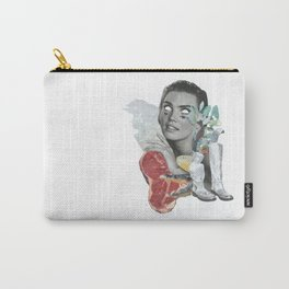 Lady in the jungle Carry-All Pouch