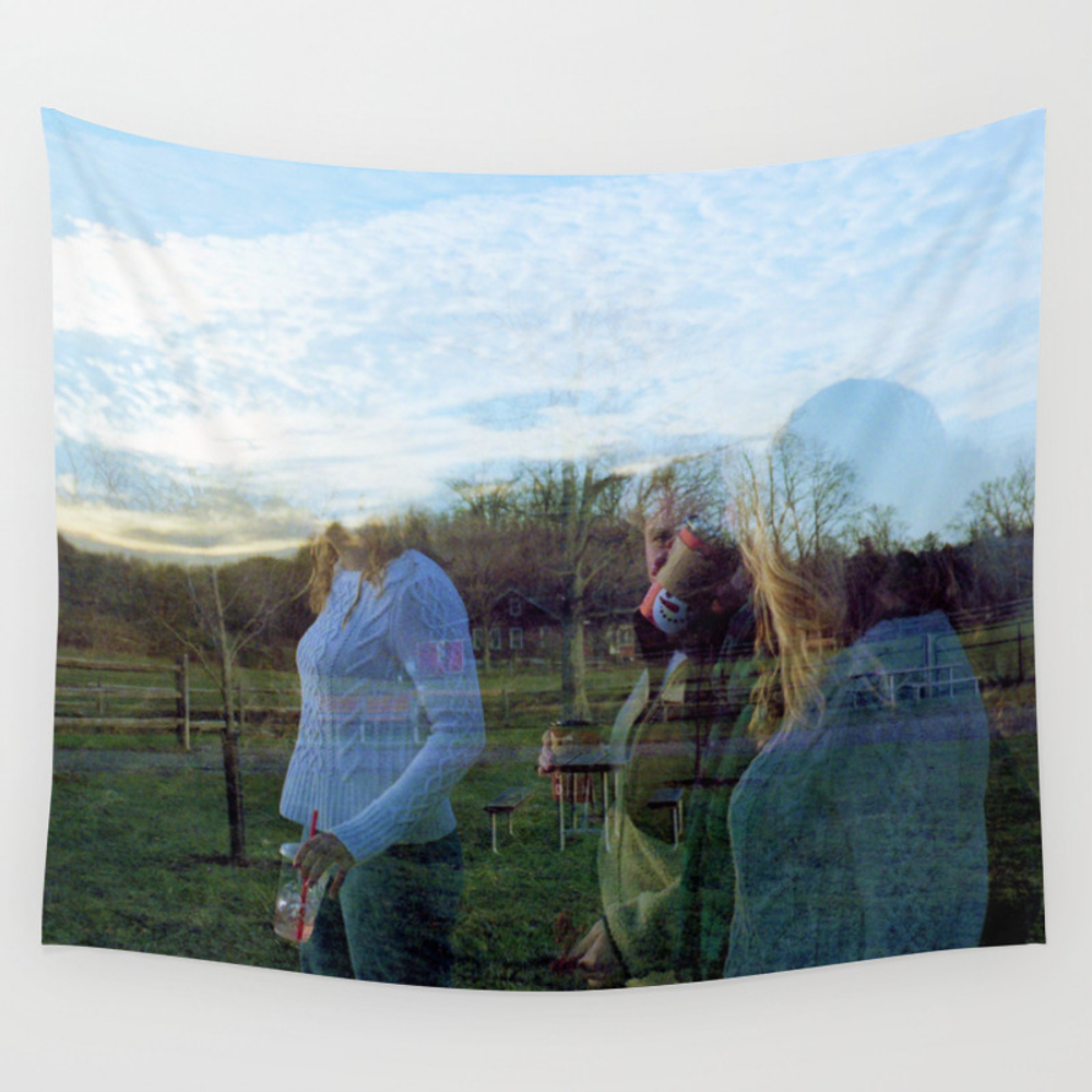 Shadow People Wall Tapestry by Jillshoop TPS8499287