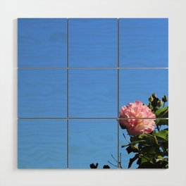 Flower in the Sky Wood Wall Art
