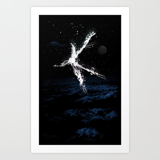 The Dive Art Print