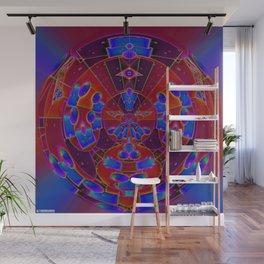 Random Kinetic Colors 85 Wall Mural