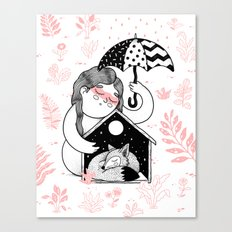 Shelter Canvas Print