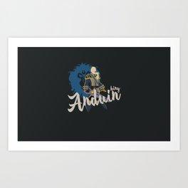 PEOPLE of AZEROTH: Anduin Art Print