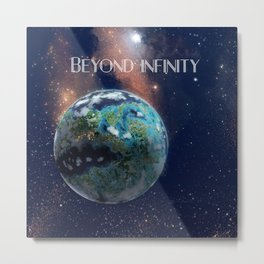 Beyond Infinity | Vacation Planet Metal Print