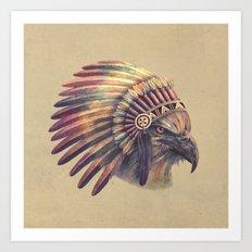 Chief - colour option Art Print