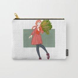 Rhonda Rhubarb Carry-All Pouch