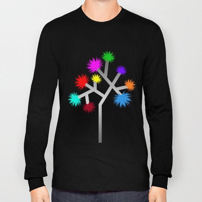 Joshua Tree Pom Poms by CREYES Long Sleeve T-shirt