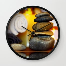 Spa and relax Wall Clock