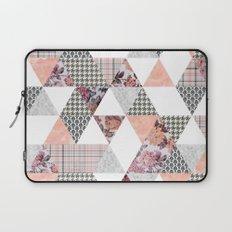 Pink Patterns Laptop Sleeve