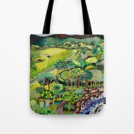 The Long Trail Tote Bag