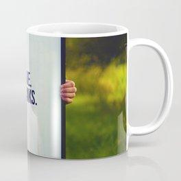 Give Thanks Sign (Color) Coffee Mug