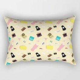 Moonrise Kingdom's Suzy Bishop Pattern Rectangular Pillow