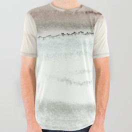 WITHIN THE TIDES NATURAL THREE by Monika Strigel All Over Graphic Tee