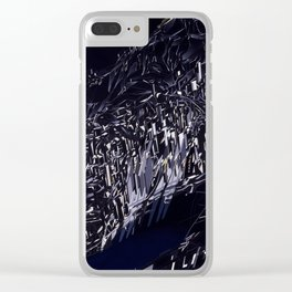 Zaha Hadid - The Peak - 1983 Clear iPhone Case