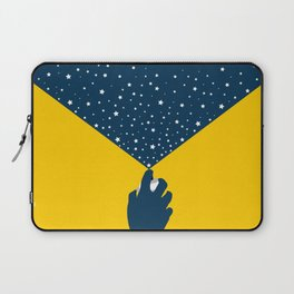Starlight With Moon Accent Laptop Sleeve