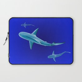 Grace in Endless Blue Laptop Sleeve
