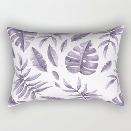 Purple leaves Rectangular Pillow