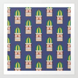 Nutcracker Army 02 (Patterns Please) Art Print