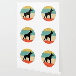 Doberman Pinscher Dog Gift design Wallpaper