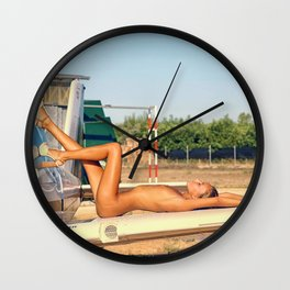 Airplane VI Wall Clock