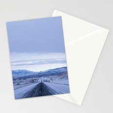 long roads Stationery Cards