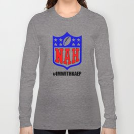 imwithkap #TakeAKnee Protest T Shirt Long Sleeve T-shirt