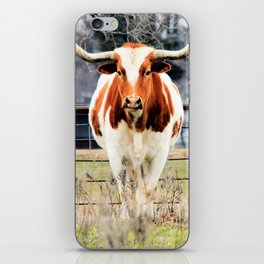 Texas Longhorn Morning iPhone Skin