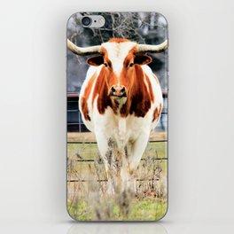 Texas Longhorn Morning iPhone Skin