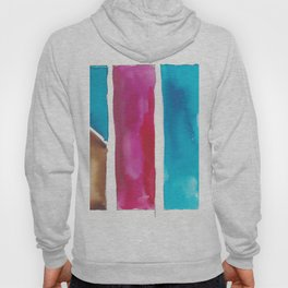 180811 Watercolor Block Swatches 6| Colorful Abstract |Geometrical Art Hoody