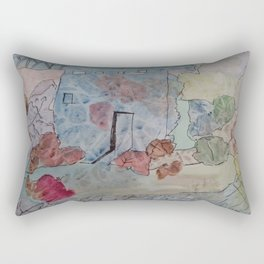 Phantasie Architektur Rectangular Pillow