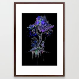 Tree of Gem  Framed Art Print