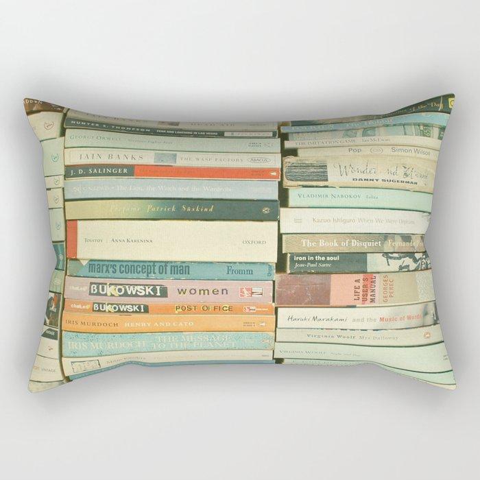 Bookworm Rectangular Pillow