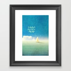 Lucky - for iphone Framed Art Print