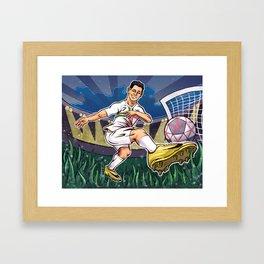 Cristiano Ronaldo Framed Art Print