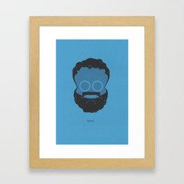 skeard Framed Art Print