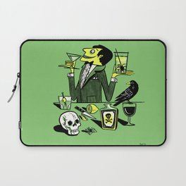 Drinks With The Mad Scientist Next Door Laptop Sleeve