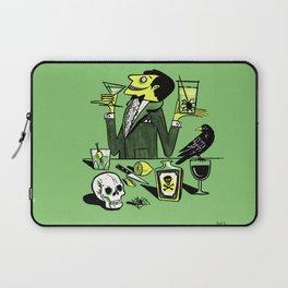Drinks With The Mad Scientist Next Door Laptop Sleeve