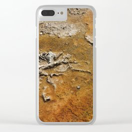 Thermal Earth Clear iPhone Case