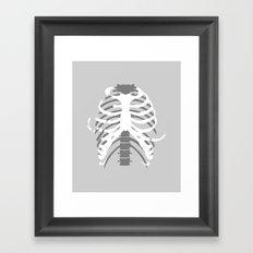 Your Body On Skate Framed Art Print