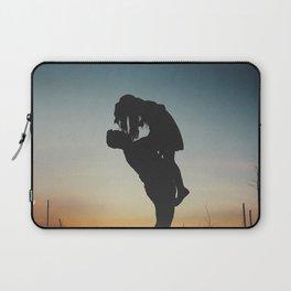 WOMAN - MAN - MOON - SUNSET - PHOTOGRAPHY Laptop Sleeve