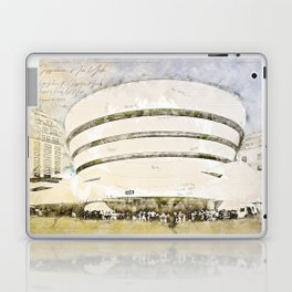 Guggenheim Museum, New York USA Laptop & iPad Skin