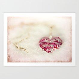 Winterheart Art Print